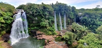 Canoas Waterfalls La Macarena Colombia