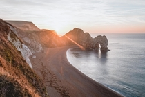 Cant beat a sunrise at Durdle Door  x