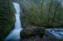 Cant wait for Fall and the return of heavy flows Bridal Veil Falls Oregon