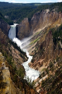 Canyon of the Yellowstone Wyoming