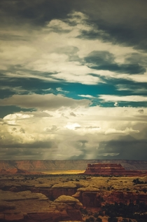 Canyonlands Before a Storm in