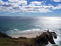 Cape Byron easternmost point in Australia x