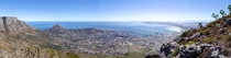 Cape Town view from Devils Peak
