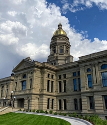 Capitol building in Cheyenne Wyoming