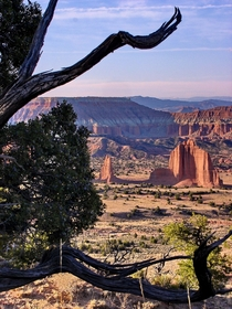 Capitol Reef Cathedral Valley Temple of the Moon amp Sun UT -