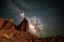 Capitol Reef NP enjoys some of the darkest skies in the US