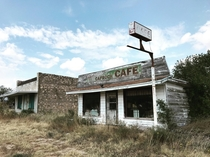 Caprock Cafe in Gail Texas