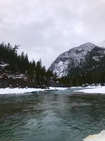 Captured this beauty for my first post Bow River Banff Alberta  x
