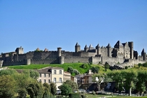 Carcassonne France The medieval fortified city