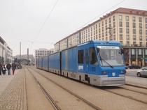 CarGoTram is a freight tram in Dresden Germany to supply the Volkswagen factory which builds the e-Golf