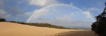 Carlo sand blow at Rainbow beach Queensland Australia