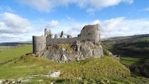 Carreg Cennen - The Welsh Castle With A Cave Carmarthenshire Wales x OC