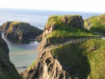Carrick-a-Rede Rope Bridge County Antrim Northern Ireland