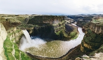 Carved from glacial floods Palouse Falls WA