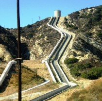 Cascades of the Los Angeles Aqueduct