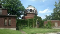 Case School of Applied Sciences Observatory Building Abandoned Since the Mid-Eighties
