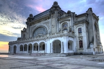 Casino in Constanta built  - photo by Djphazer Abandonded since