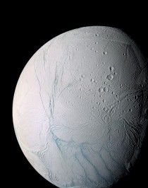 Cassini Image of Enceladus