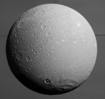 Cassinis Final Breathtaking Close Views of Saturns icy moon Dione