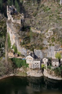 Castelbouc in Lozere region of France
