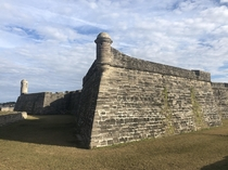Castillo de San Marco in St Augustine FL Oldest masonry fort in the USA Built in