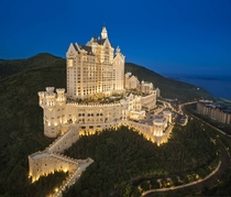 Castle Hotel in Dalian China