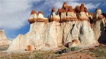 Castle-like rock structures in Blue Canyon Arizona  PatrickBerden
