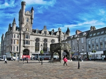 Castlegate in Aberdeen Scotland my home town