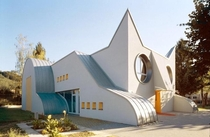 Cat Shaped Kindergarten Germany