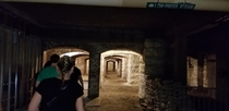 Catacombs under downtown Indianapolis
