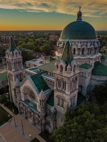 Cathedral Basilica of Saint Louis St Louis Missouri USA Built over seven years and finished in