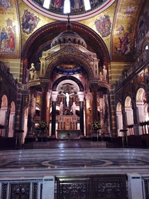 Cathedral Basilica of St Louis construction started in
