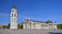 Cathedral Basilica Vilnius Lithuania  Photo by mikie