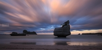 Cathedral Cove Beach New Zealand by The Technician The Creative and The Guy in between