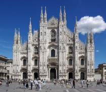 Cathedral in Milan Italy