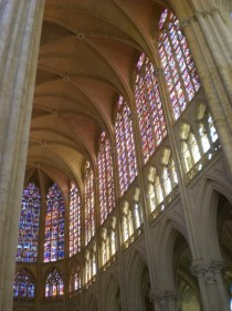 Cathedral in Tours France
