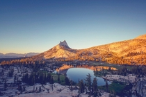 Cathedral lakes Tuolumne Meadows YosemiteCA OC