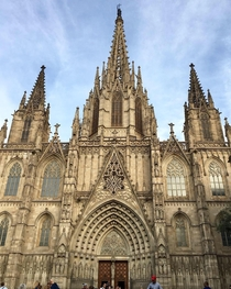Cathedral of Barcelona constructed in the th century