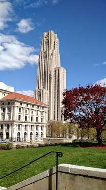 Cathedral of Learning Pittsburgh PA