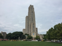 Cathedral of Learning the tallest educational building in the Western hemisphere