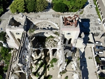 Cathedral of Our Lady of Assumption Port au Prince Haiti Damaged by the  January  earthquake