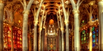 Cathedral of stone and light - La Sagrada Familia Barcelona