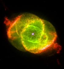 Cats Eye Nebula First Planetary Nebula To Be Discovered By William Herschel Remnant Of The Late Evolution Of A Dying Star