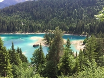 Caumasee Flims Switzerland