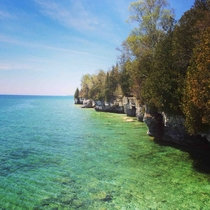Cave Point Door County WI