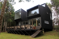 CBI House - Puerto Varas Chile  Designed by SGGB Architects