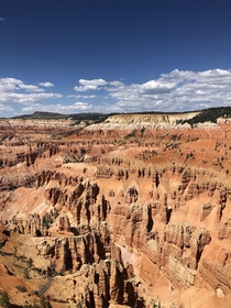 Cedar Breaks National Monument Brian Head UT - ft but breathtaking for more than elevation alone