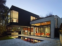 Cedarvale Ravine House in Toronto - by Drew Mandel Architects