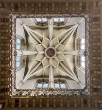 Ceiling Durham Cathedral UK