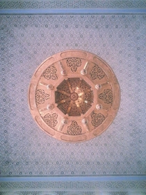 Ceiling of Arfoud Mosque Morocco